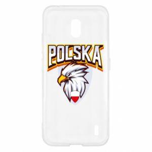 Etui na Nokia 2.2 Orzeł biały