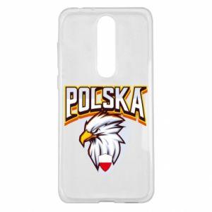 Etui na Nokia 5.1 Plus Orzeł biały