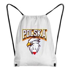 Plecak-worek Orzeł biały