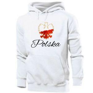 Bluza z kapturem męska Orzeł Polska