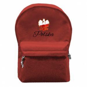Plecak z przednią kieszenią Orzeł Polska