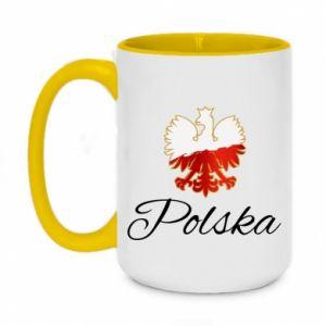 Kubek dwukolorowy 450ml Orzeł Polska