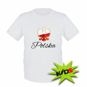 Koszulka dziecięca Orzeł Polska