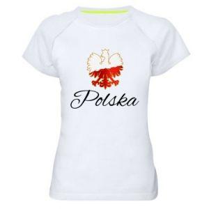 Koszulka sportowa damska Orzeł Polska