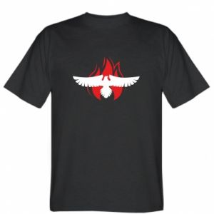 T-shirt Eagle on fire