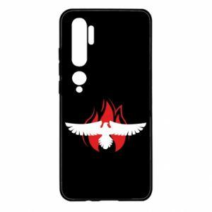 Etui na Xiaomi Mi Note 10 Orzeł w ogniu