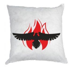 Poduszka Orzeł w ogniu