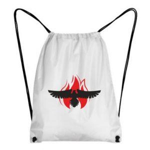Plecak-worek Orzeł w ogniu