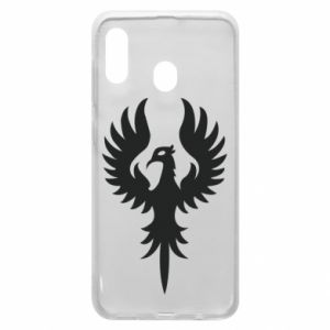 Phone case for Samsung A20 Еagle big wings