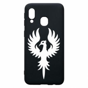 Phone case for Samsung A40 Еagle big wings