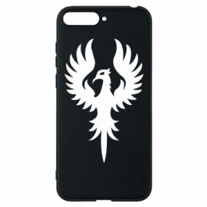 Phone case for Huawei Y6 2018 Еagle big wings
