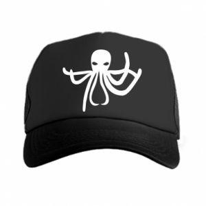 Trucker hat Octopus