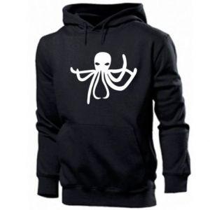 Men's hoodie Octopus