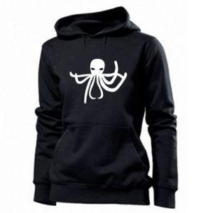 Women's hoodies Octopus