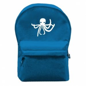 Backpack with front pocket Octopus