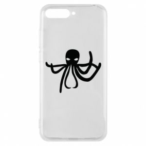 Phone case for Huawei Y6 2018 Octopus