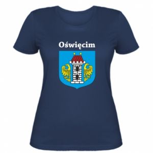 Women's t-shirt Emblem. Oswiecim