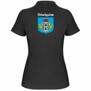 Damska koszulka polo Herb. Oświęcim