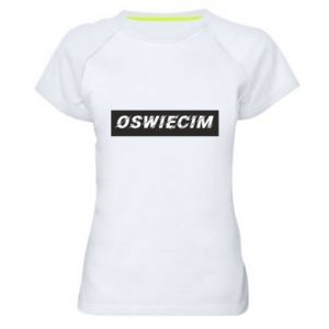 Damska koszulka sportowa City Oswiecim