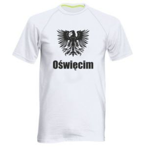 Men's sports t-shirt Oswiecim