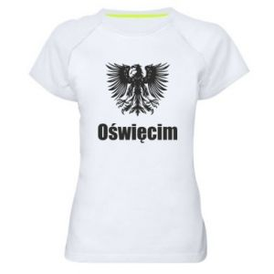 Women's sports t-shirt Oswiecim