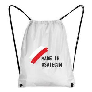 Plecak-worek Made in Oswiecim