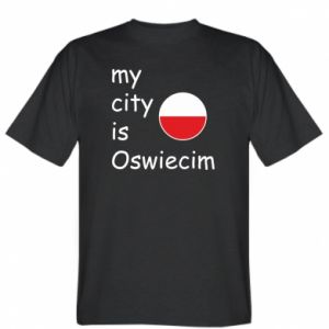 T-shirt My city is Oswiecim