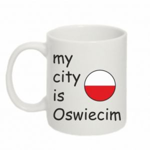 Kubek 330ml My city is Oswiecim