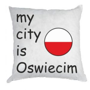 Pillow My city is Oswiecim