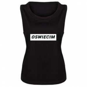 Damska koszulka bez rękawów City Oswiecim