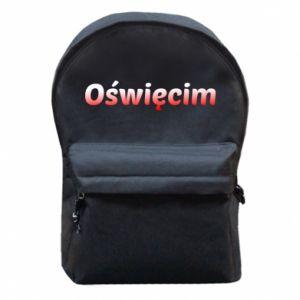 Plecak z przednią kieszenią Oświęcim