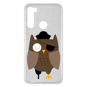 Etui na Xiaomi Redmi Note 8 Owl pirate