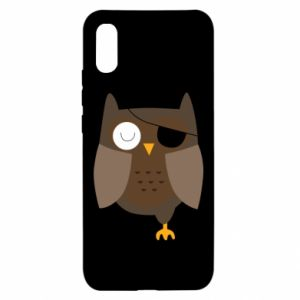 Xiaomi Redmi 9a Case Owl pirate