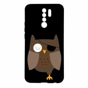 Etui na Xiaomi Redmi 9 Owl pirate