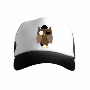 Czapka trucker dziecięca Owl pirate