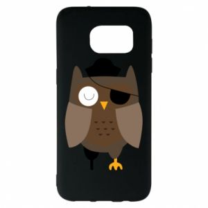 Etui na Samsung S7 EDGE Owl pirate