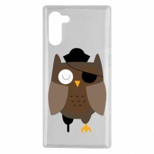 Etui na Samsung Note 10 Owl pirate