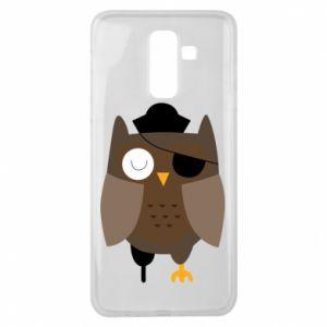 Etui na Samsung J8 2018 Owl pirate