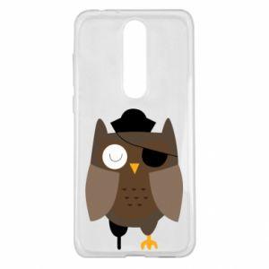 Etui na Nokia 5.1 Plus Owl pirate