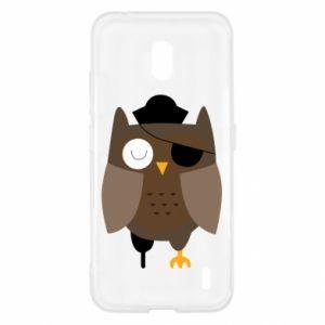 Etui na Nokia 2.2 Owl pirate