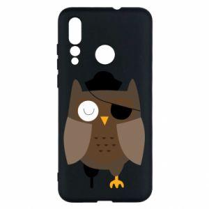 Etui na Huawei Nova 4 Owl pirate