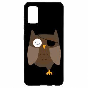 Etui na Samsung A41 Owl pirate