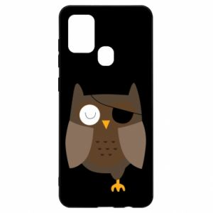 Etui na Samsung A21s Owl pirate
