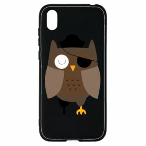 Etui na Huawei Y5 2019 Owl pirate