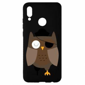 Etui na Huawei P Smart 2019 Owl pirate