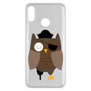 Etui na Huawei Y9 2019 Owl pirate