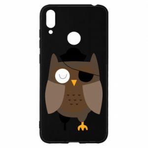 Etui na Huawei Y7 2019 Owl pirate