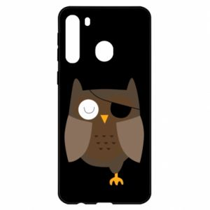 Etui na Samsung A21 Owl pirate