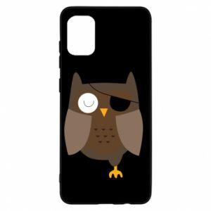 Etui na Samsung A31 Owl pirate