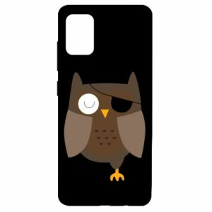 Etui na Samsung A51 Owl pirate